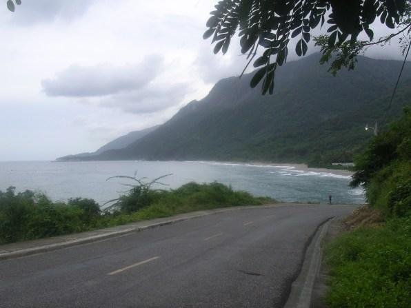 the road to Barahona from Haiti