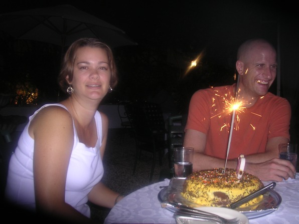 celebrating 30th birthday in Haiti
