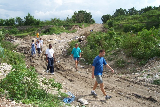 haiti hash house harriers at the dump