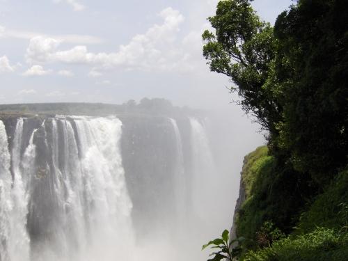 mosi ao tunya the smoke that thunders zimbabwe victoria falls