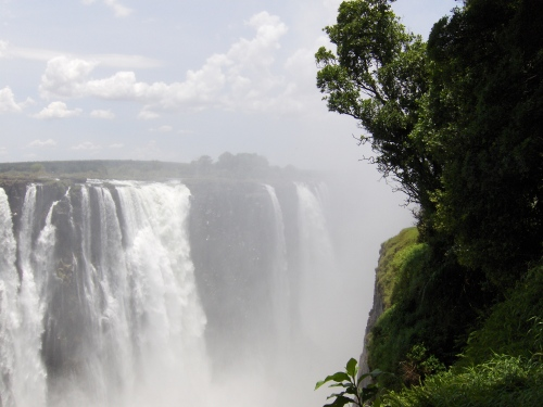 mosi ao tunya the smoke that thunders zimbabwe victoria falls