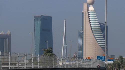 Skyline of Downtown Dubai UAE