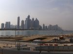 skyline of dubai under construction united arab emirates