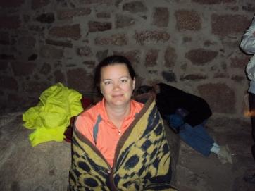 waiting for sunrise at Mt Sinai Egypt sinai peninsula