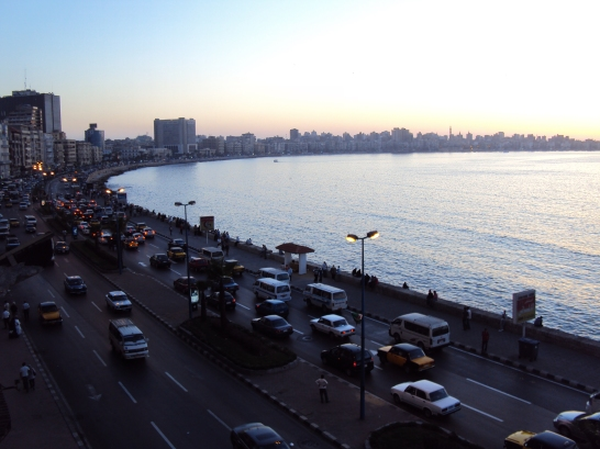 overview of Alexandria Egypt