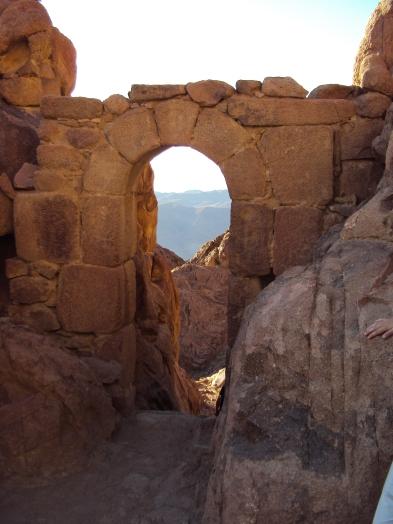 arch at mount sinai egypt