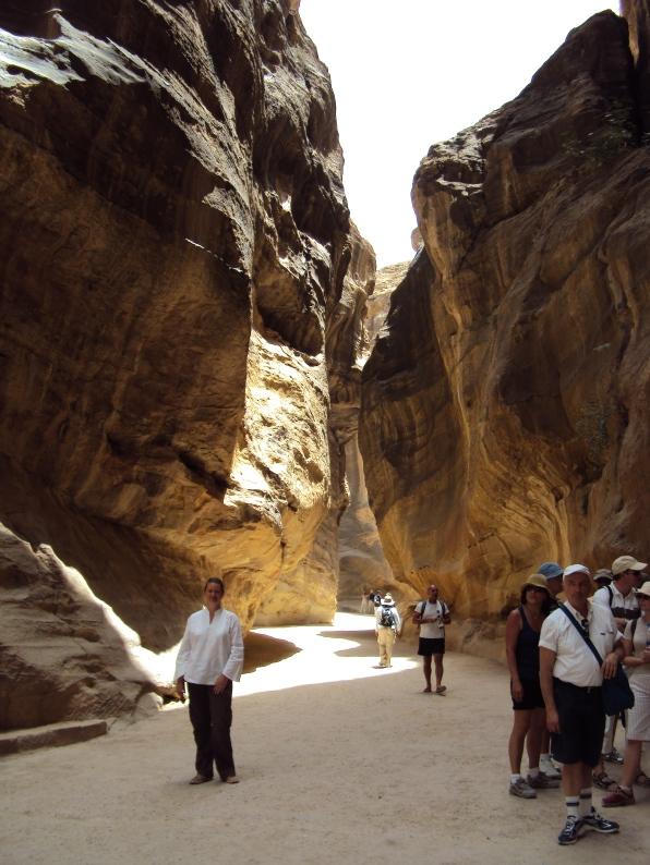 inside Petra Jordan