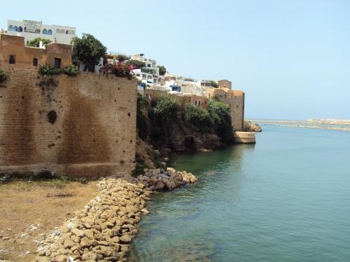 The beach at Rabat, Morocco