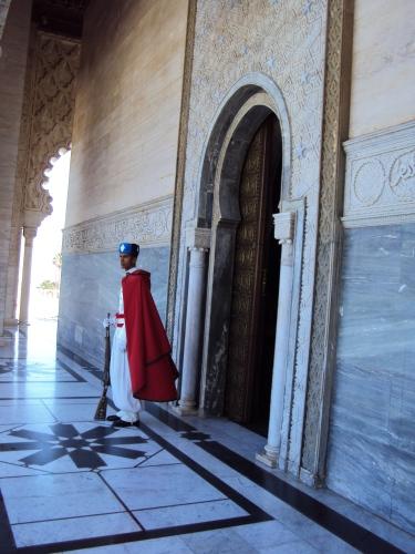 King Hassan's Tomb, Rabat, Morocco