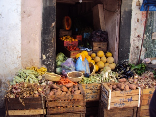Vegetable Market, Rabat