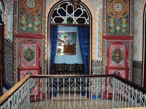 My amazing hotel in Tangiers, Morocco