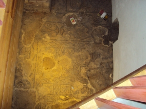 Ancient Roman floor in Cordoba