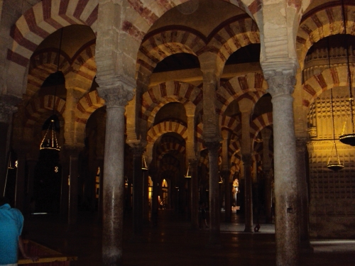 Inside Cordoba's Cathedral, Spain