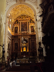 Inside Cordoba's Cathedral