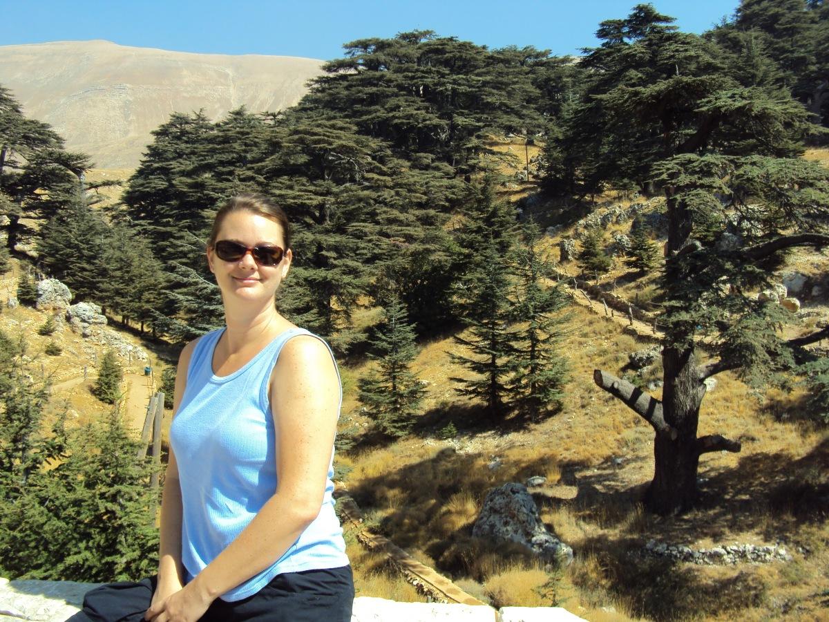 Deah at Cedars, Lebanon