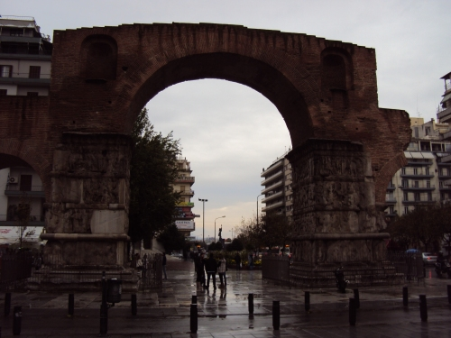 Arch of Gelerius Thessaloniki Greece