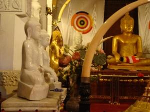 temple of buddha's sacred tooh kandy sri lanka