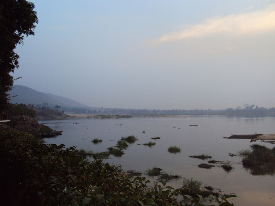 Central African Republic Ubangi River