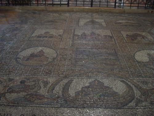 old roman tile flooring church of the holy sepulchre jerusalem israel