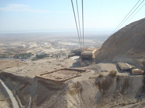 roman camp masada israel