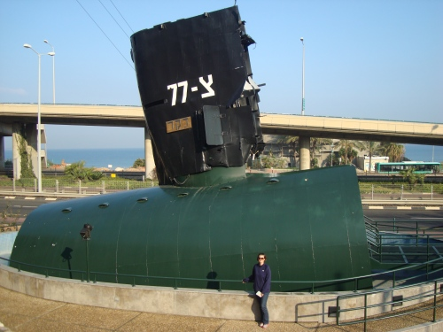 boat at museum of clandestine immigration israel