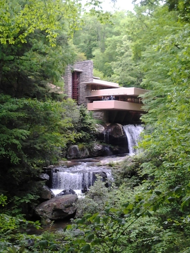 Frank Lloyd Wright Falling Water house pennsylvania