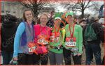 four ladies after running Washington DC Rock n roll half marathon