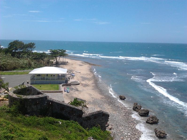 haiti cap haitian beach house and ocean