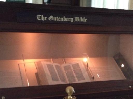 Gutenberg Bible, Library of Congress, DC