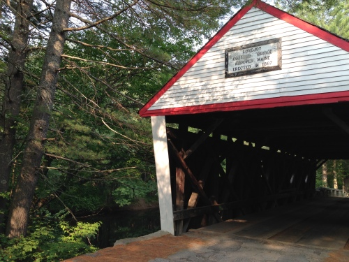Andover Maine Lovejoy Covered Bridge