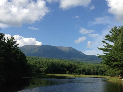 Katahdin Mountain Appalachian Trail Maine