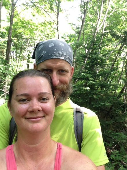 Deah and Chris, AT Vermont, Appalachian Trail