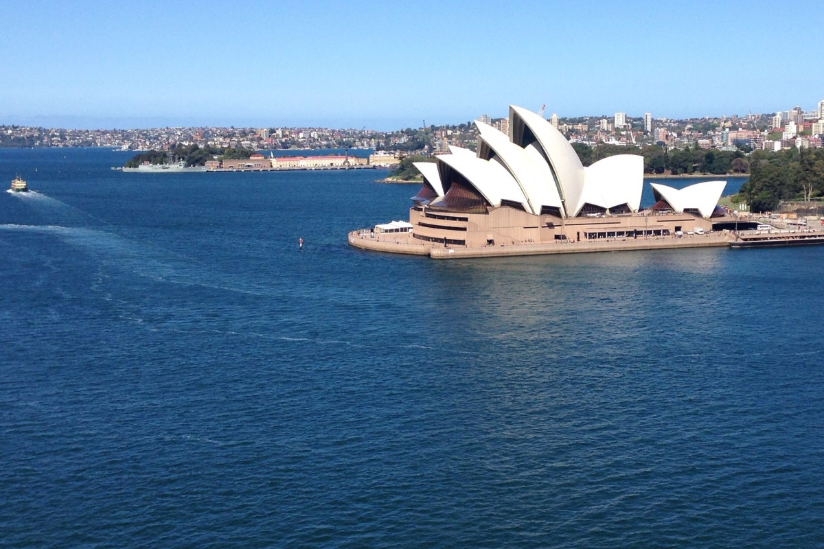 Sydney Harbor and Opera House Australia