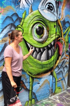street art in Melbourne Australia