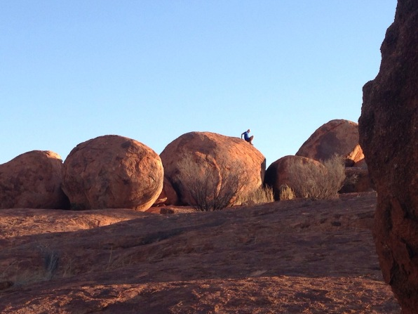 Devil's Marbles outback Australia