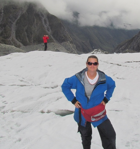 franz joseph glacier, new zealand