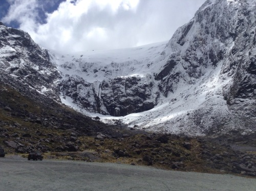new zealand glacier