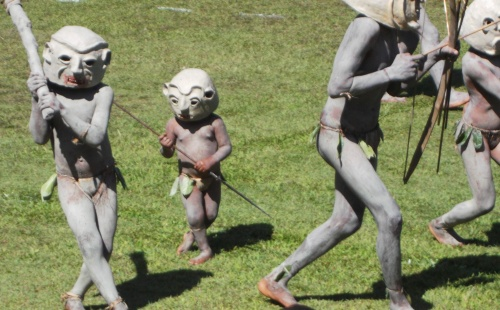 Mud Men Papua New Guinea