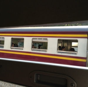 exterior of thailand trains
