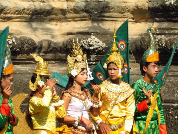 Dancers at Angkor Wat, Cambodia