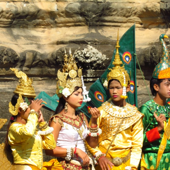 Dancers at Angkor Wat, Cambodia