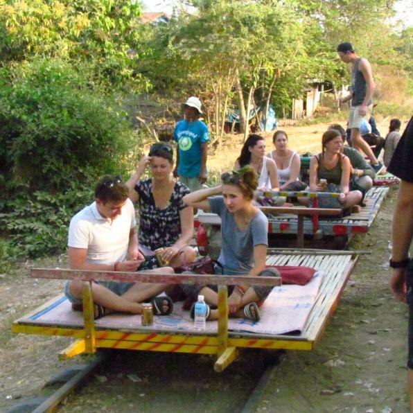 Bamboo Railway, Cambodia