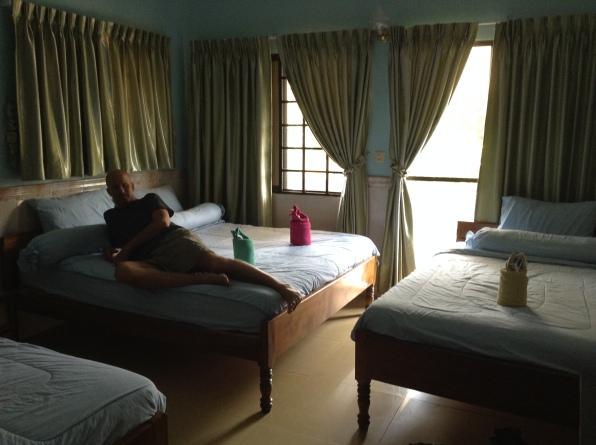 Kampot Cambodia hotel room