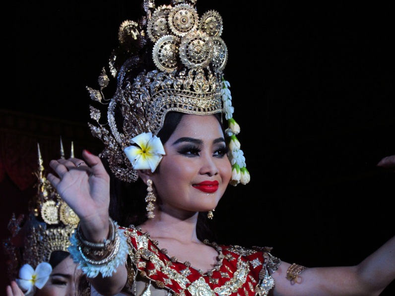 Pnom Penh Cambodia cultural show