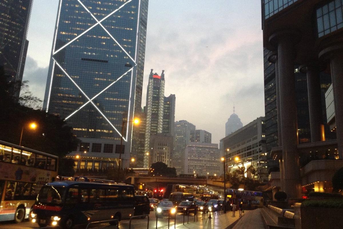 Street scene Macau