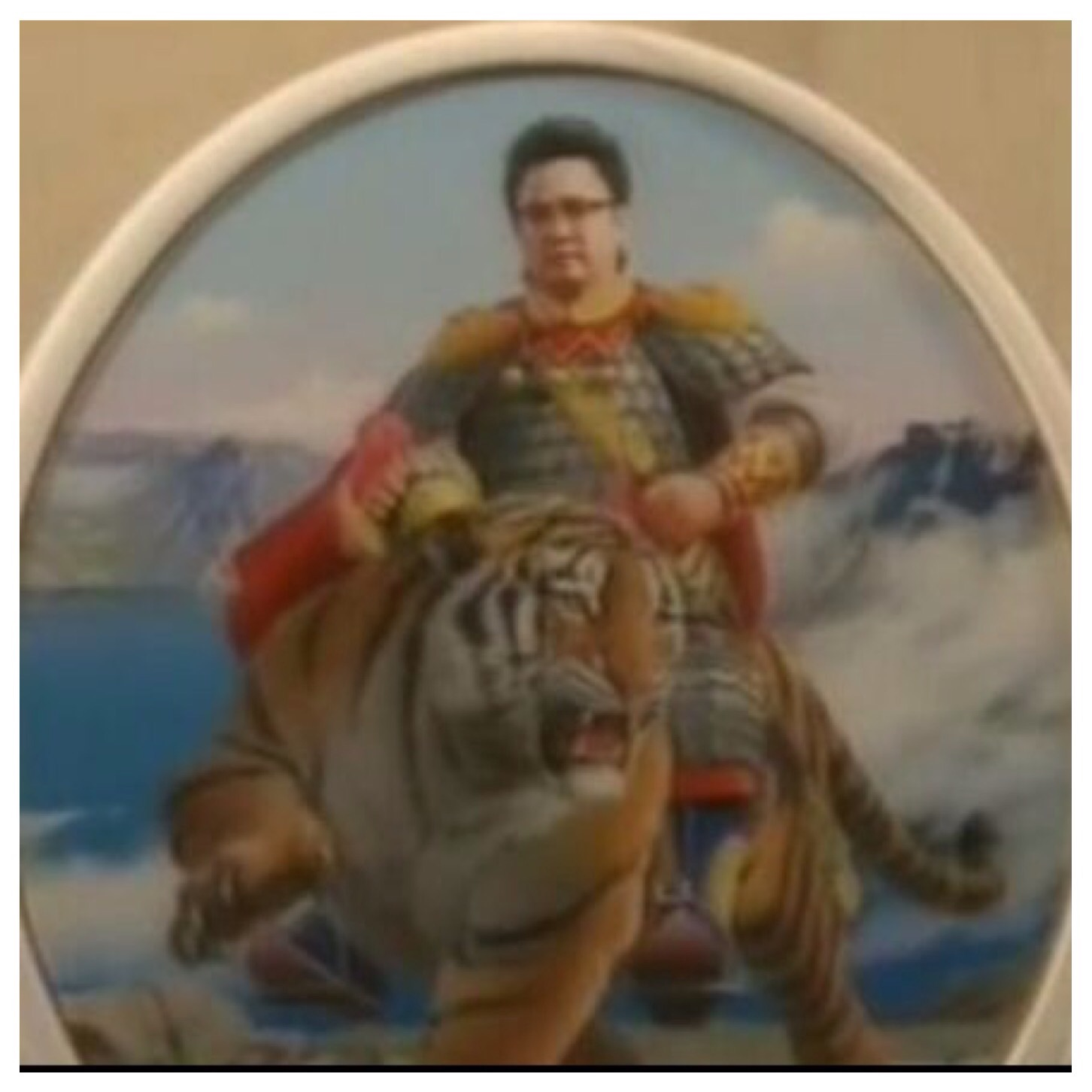 Full Koryo Dress, riding a tiger