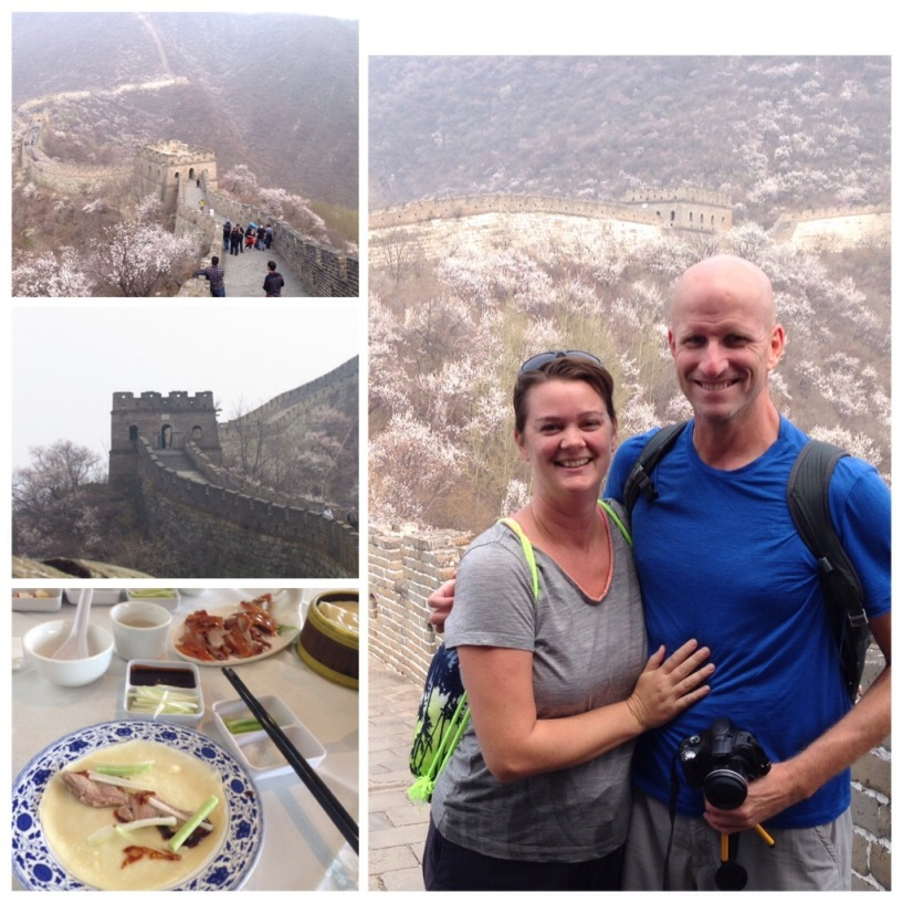 The Great Wall of China; Peking Duck