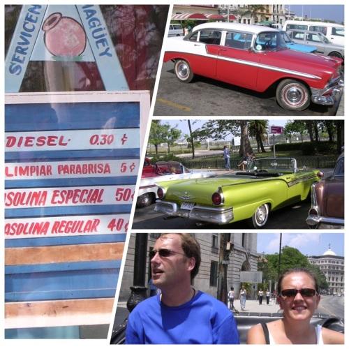 Riding Around Havana in Style