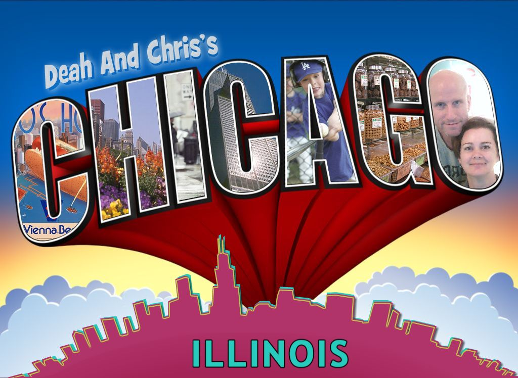 postcard from Chicago Illinois