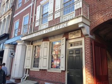 exterior of original Philadelphia Pennsylvania post office